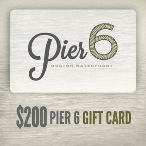 Image of $200 Pier 6 Gift Card