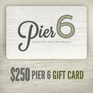 Image of $250 Pier 6 Gift Card
