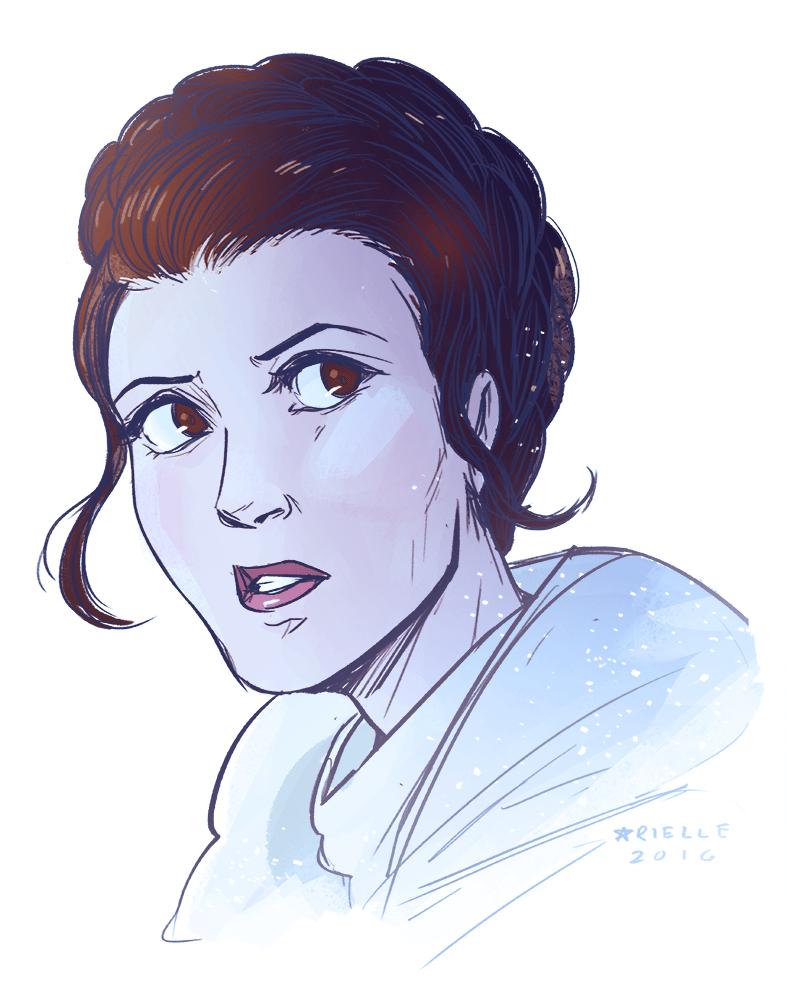 Image of Leia Print