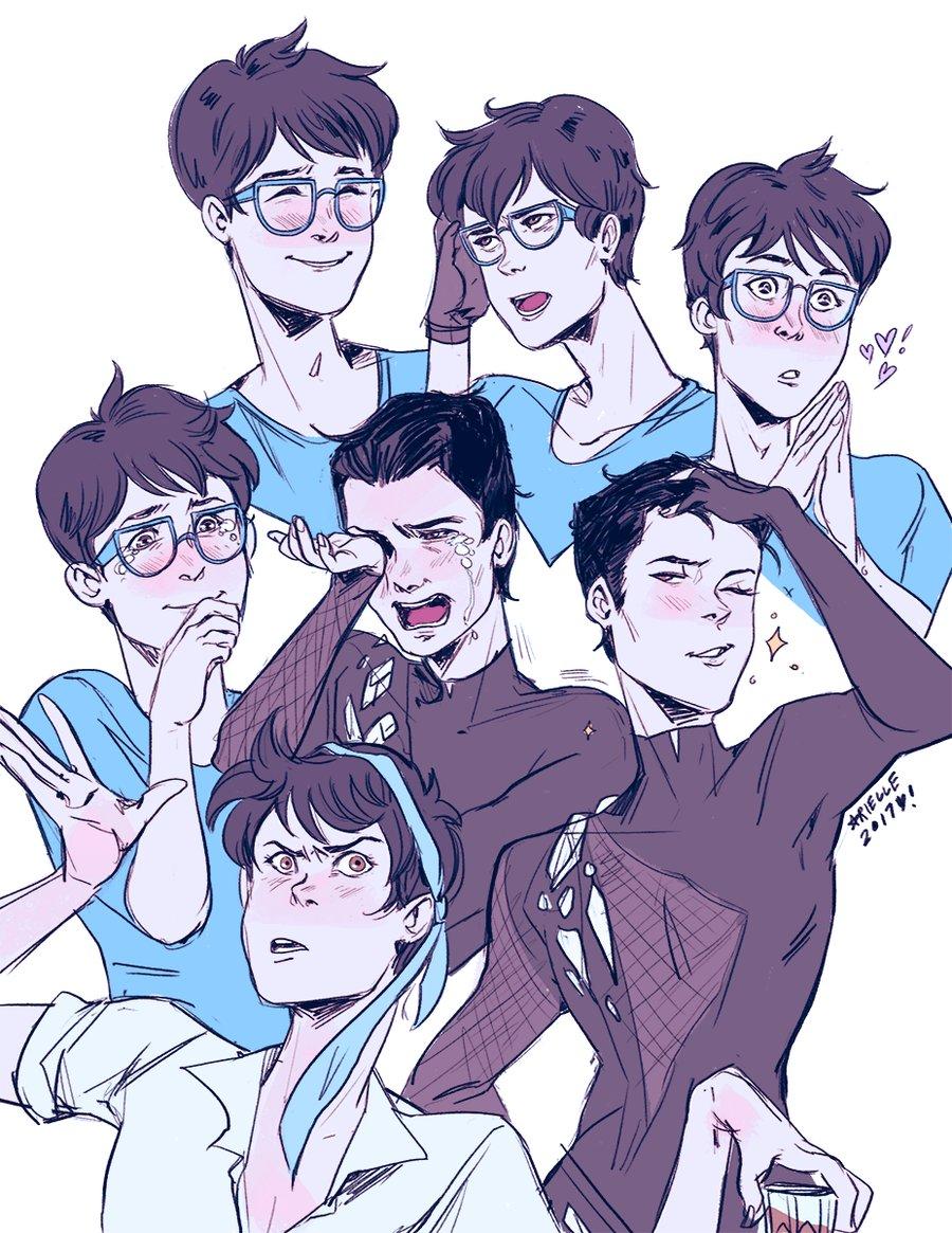 Image of Yuuri Katsuki Expressions