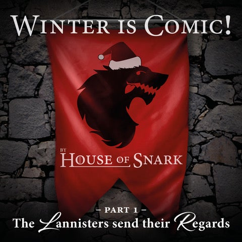 Image of House Of Snark - Winter is Comic