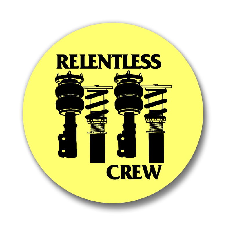 """Image of Relentless Crew 1.25"""" Button Pins"""