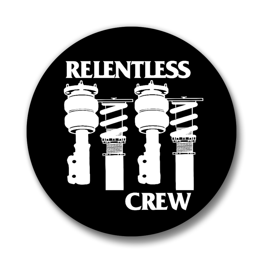 "Image of Relentless Crew 1.25"" Button Pins"