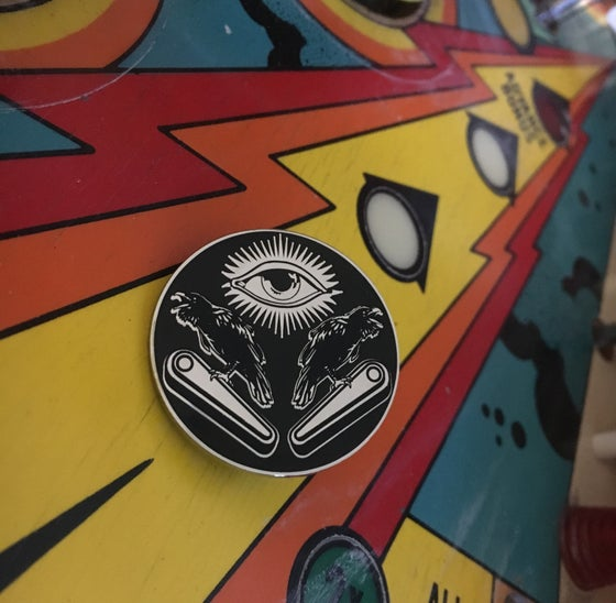 Image of Eye of Odin Enamel Pin