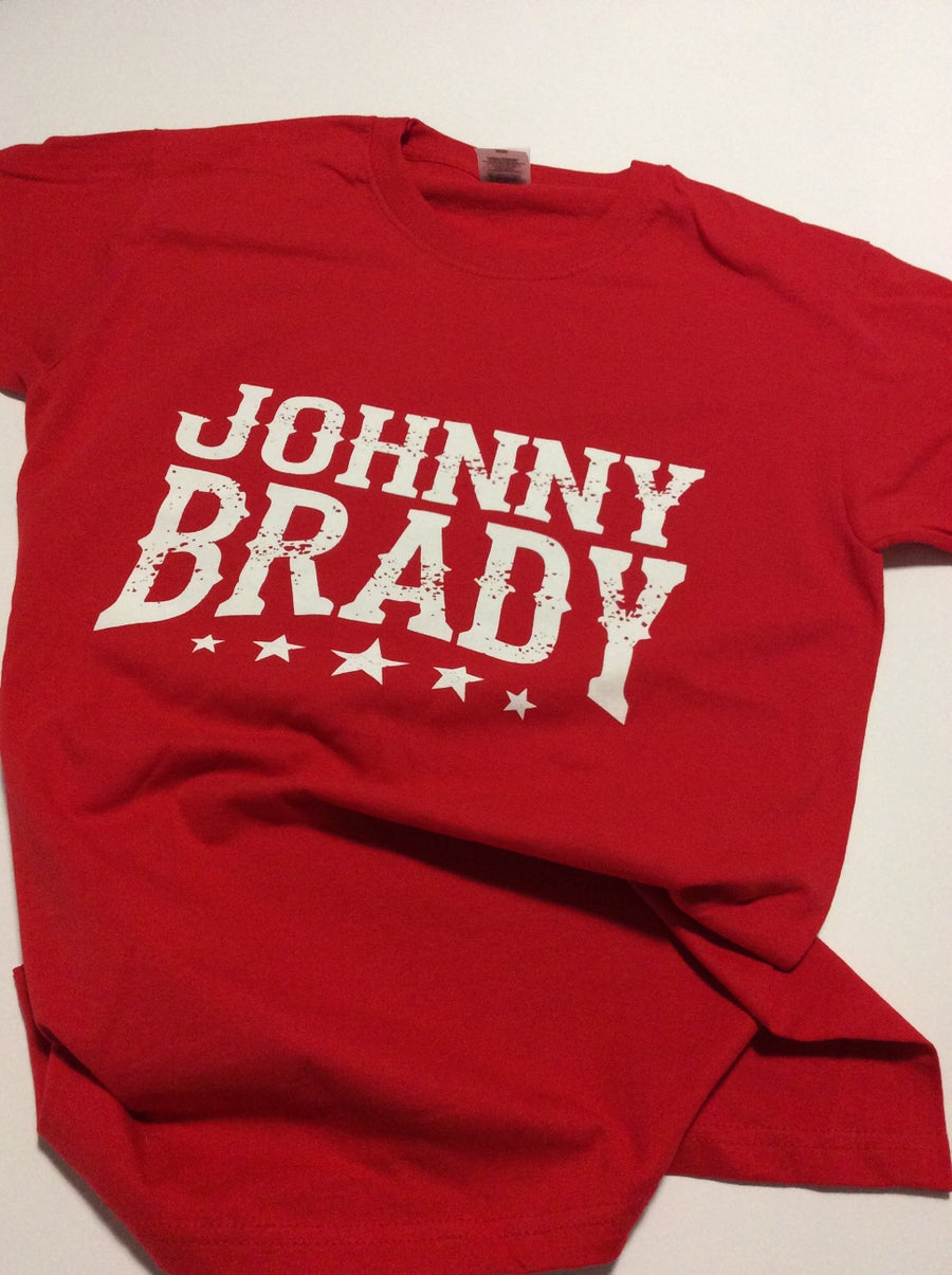 Image of Special Edition Red JB Logo T-Shirt