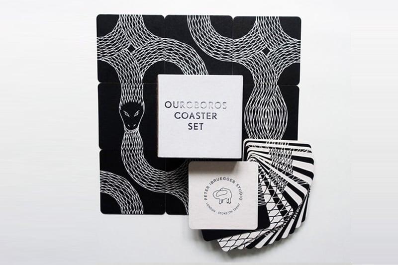 Image of Ouroboros Coaster Set