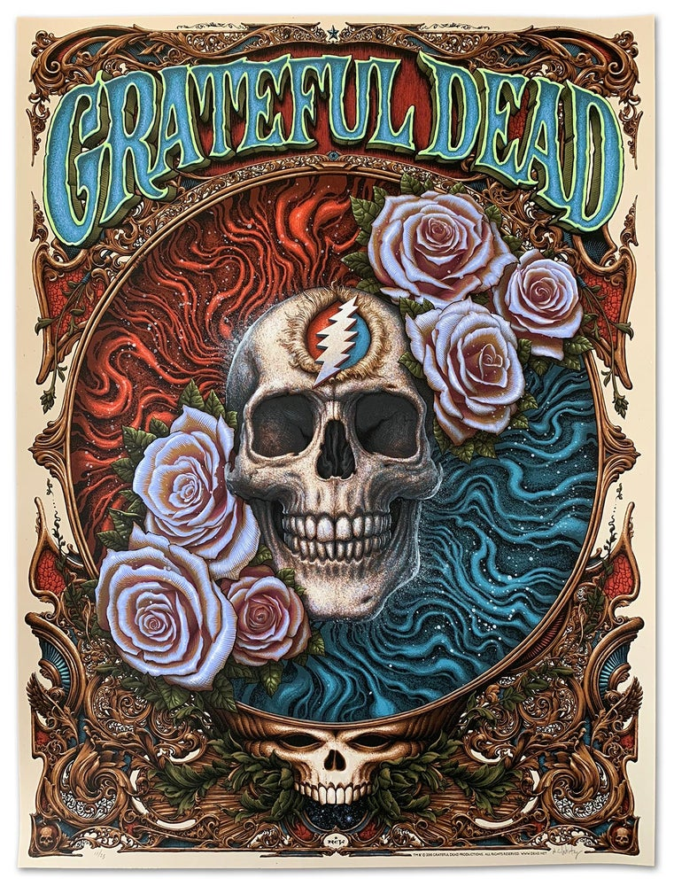 Image of Grateful Dead Hand Embellished Series