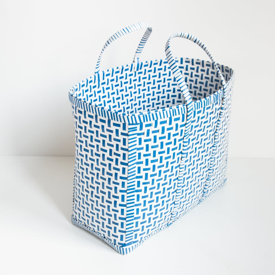 Image of Original Basket in Blue & White