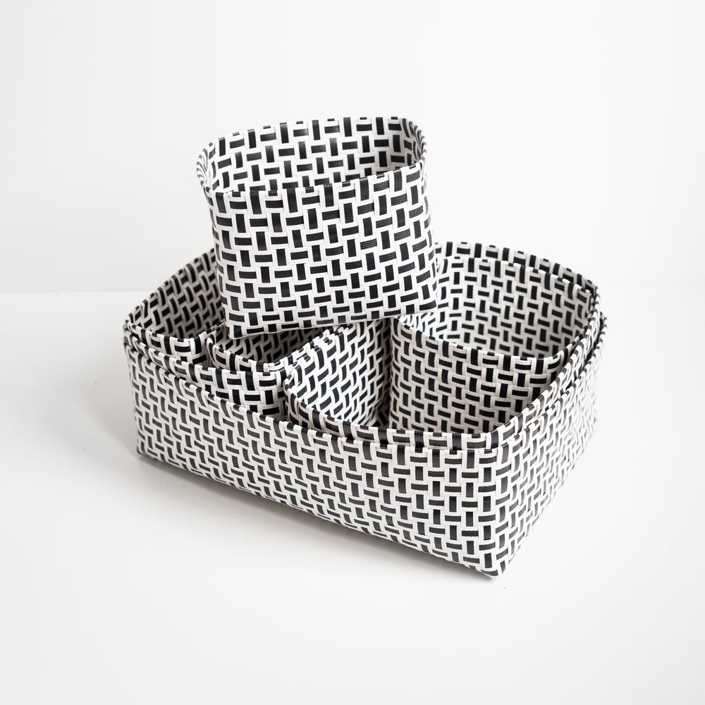 Image of Woven Storage Boxes