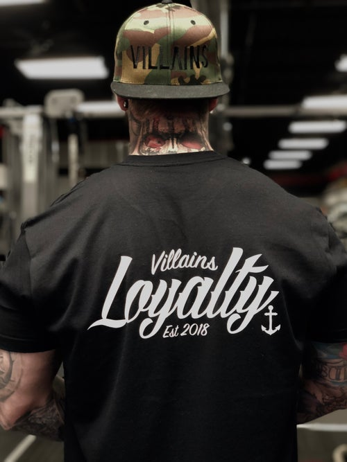 Image of Villains Loyalty tee