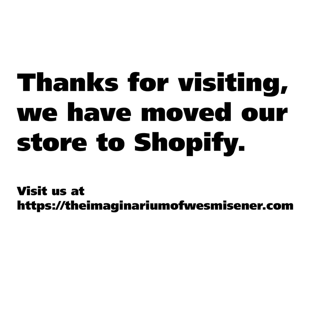 Image of WE HAVE MOVED to Shopify