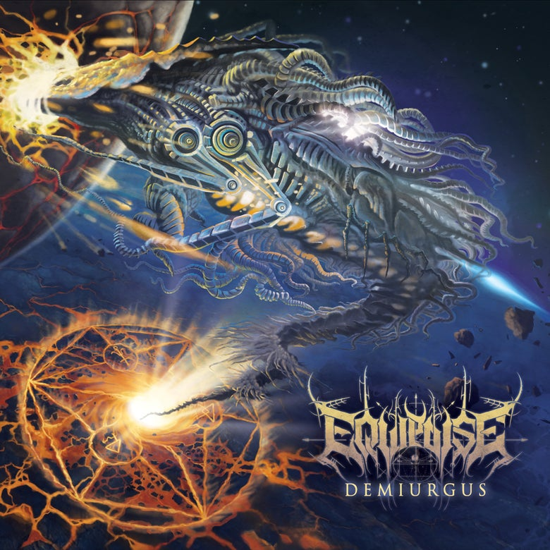Image of [PRE-ORDER] EQUIPOISE - Demiurgus - CD