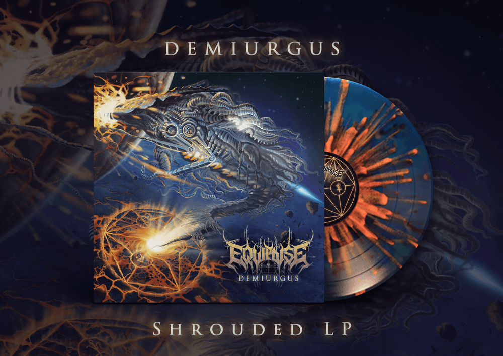 Image of [PRE-ORDER] EQUIPOISE - Demiurgus - Shrouded Double LP