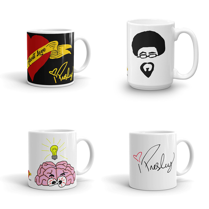 Image of Isaak Presley About Love Mug Collection (Limited Edition)
