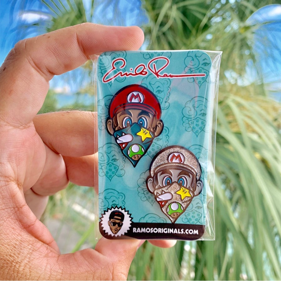 Image of Mario Pins (2pack)