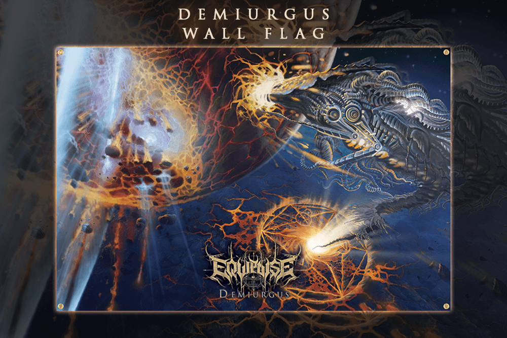 Image of EQUIPOISE - Demiurgus - Wall flag
