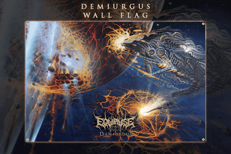 Image of [PRE-ORDER] EQUIPOISE - Demiurgus - Wall flag