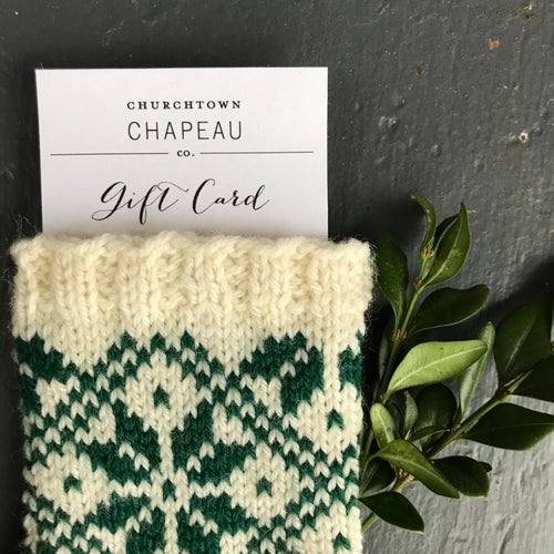 Image of Gift Card : Heirloom Christmas Stockings