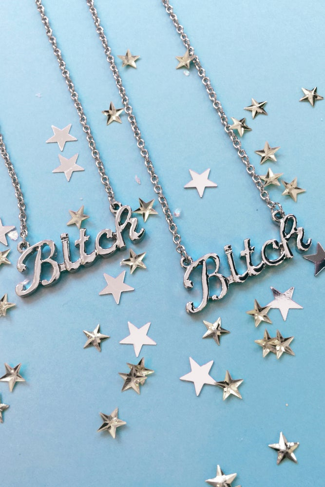 Image of BITCHIN' BITCH NECKLACE