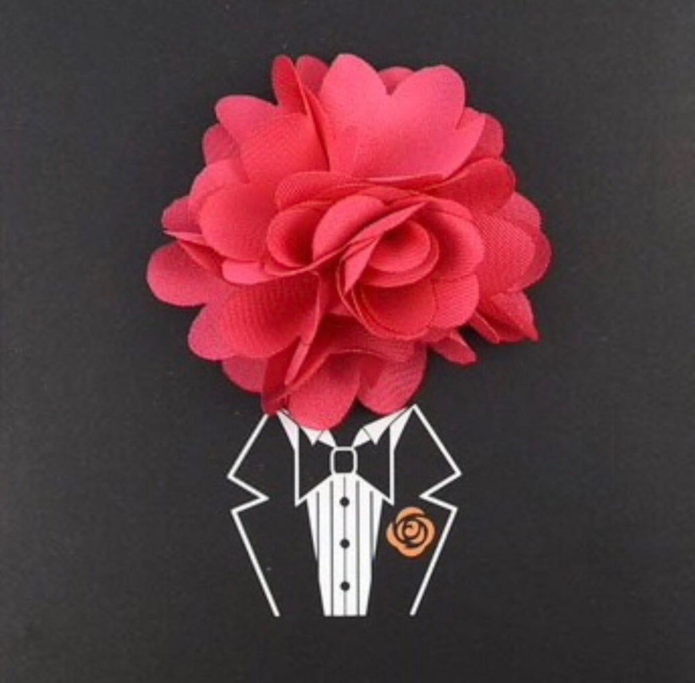 Image of Floral Lapel Pin