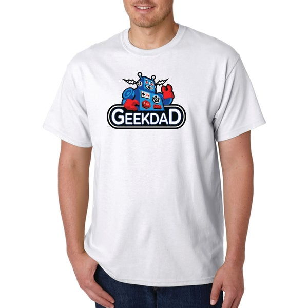 Image of GeekDad Robot Logo T-Shirt