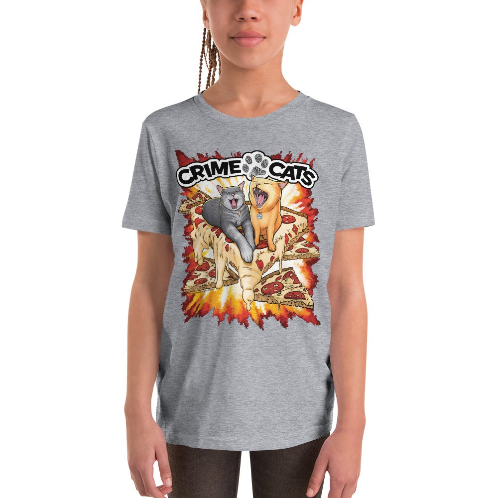 "Image of Kid's Unisex ""Pizza Cats"" T-shirt"