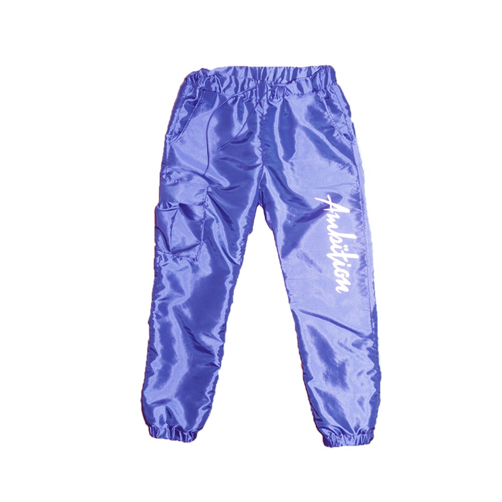 Image of Windbreaker Cargo pants (Purple)