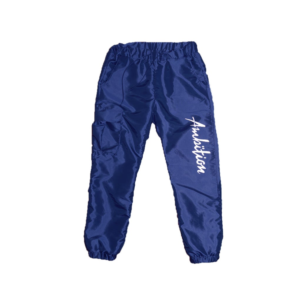 Image of Windbreaker Cargo pants (Navy)