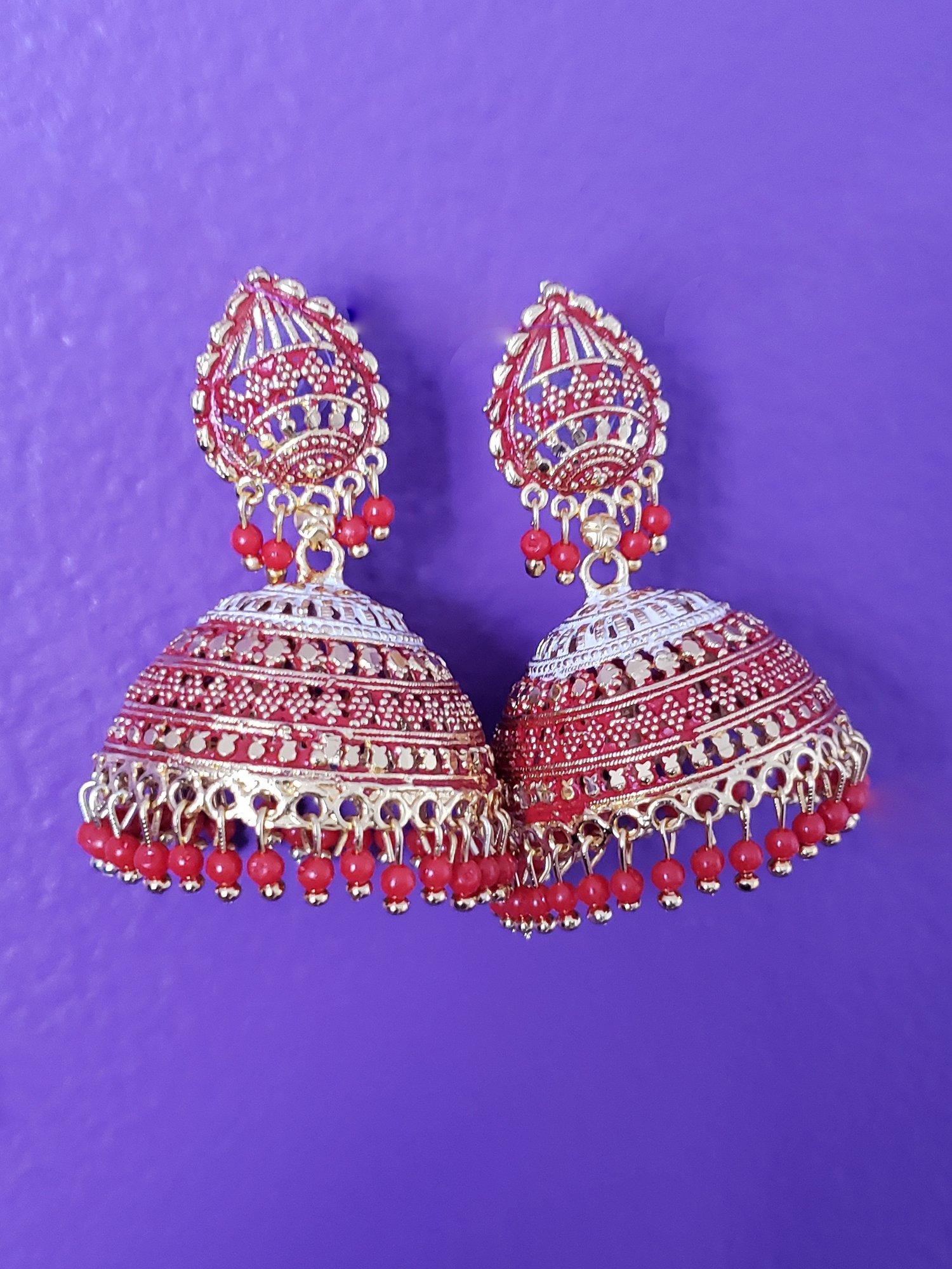 Image of Mina Jhum Chandelier Earrings