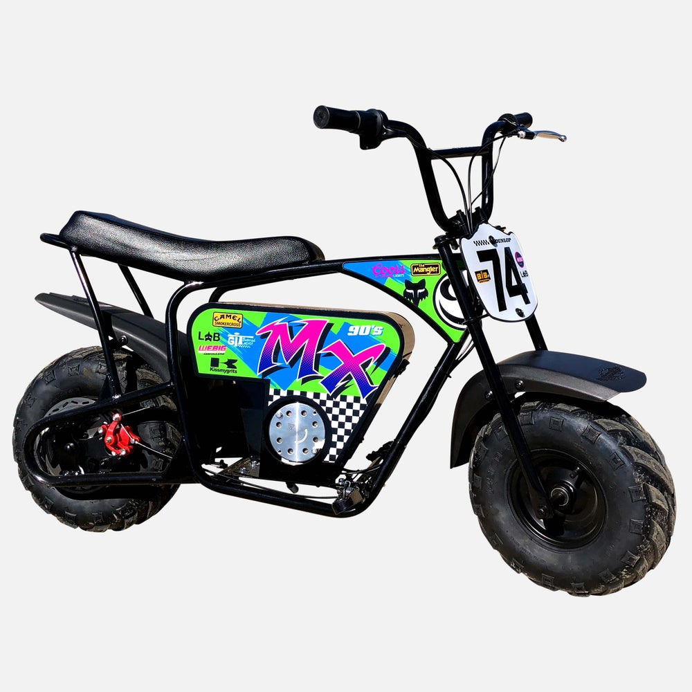 Image of TEAM BADASS MEGA MOTO GRAPHICS KIT
