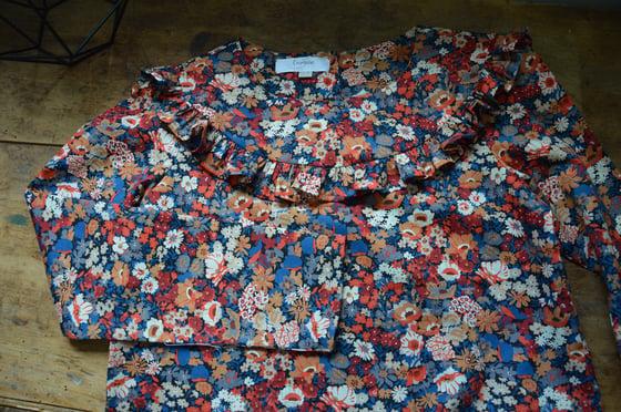 Image of blouse liberty thorpe petit volant