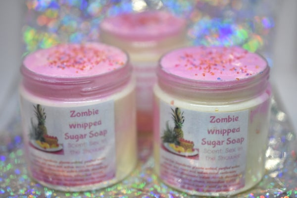 Image of Zombie Whipped Sugar Scrub: Sex in the Shower