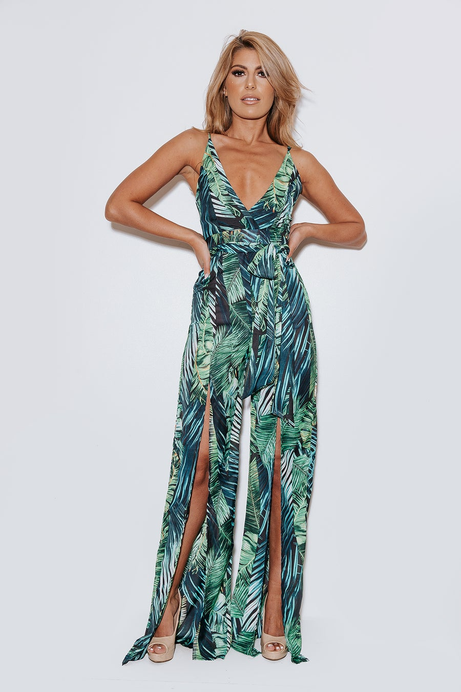 Image of 'Hawaiian tropics' Jumpsuit (50% off)