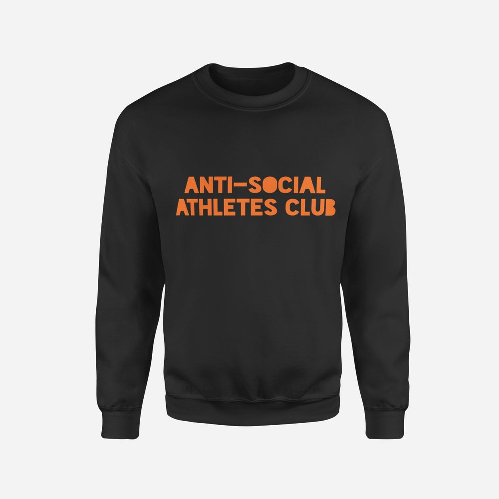 Image of Logo Sweat BLK/FLURO ORANGE