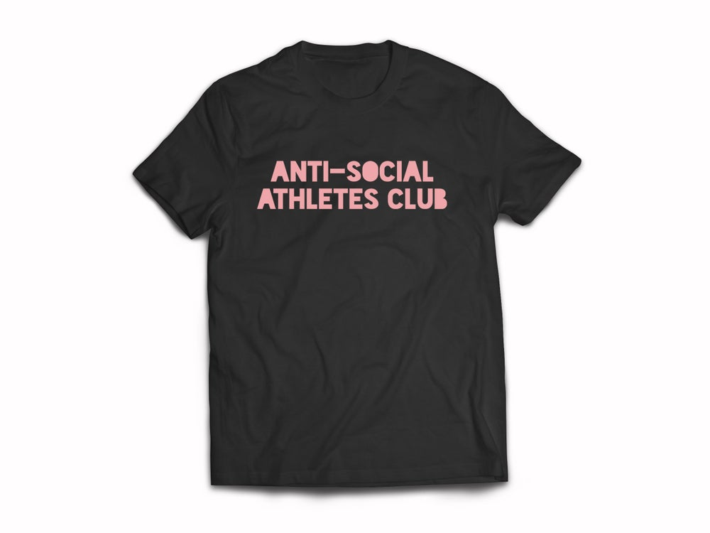 Image of Logo Tee BLK/DUSTY PINK