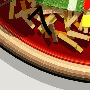 Image of Pizza Art - Football