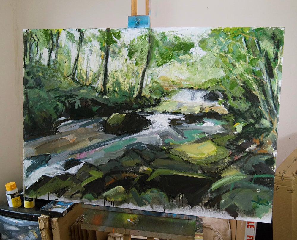 Image of The Cald Beck (original Painting)
