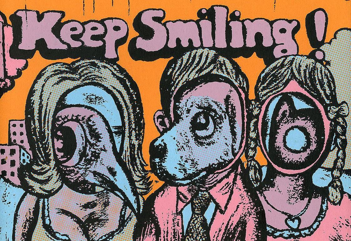 Image of KEEP SMILING!