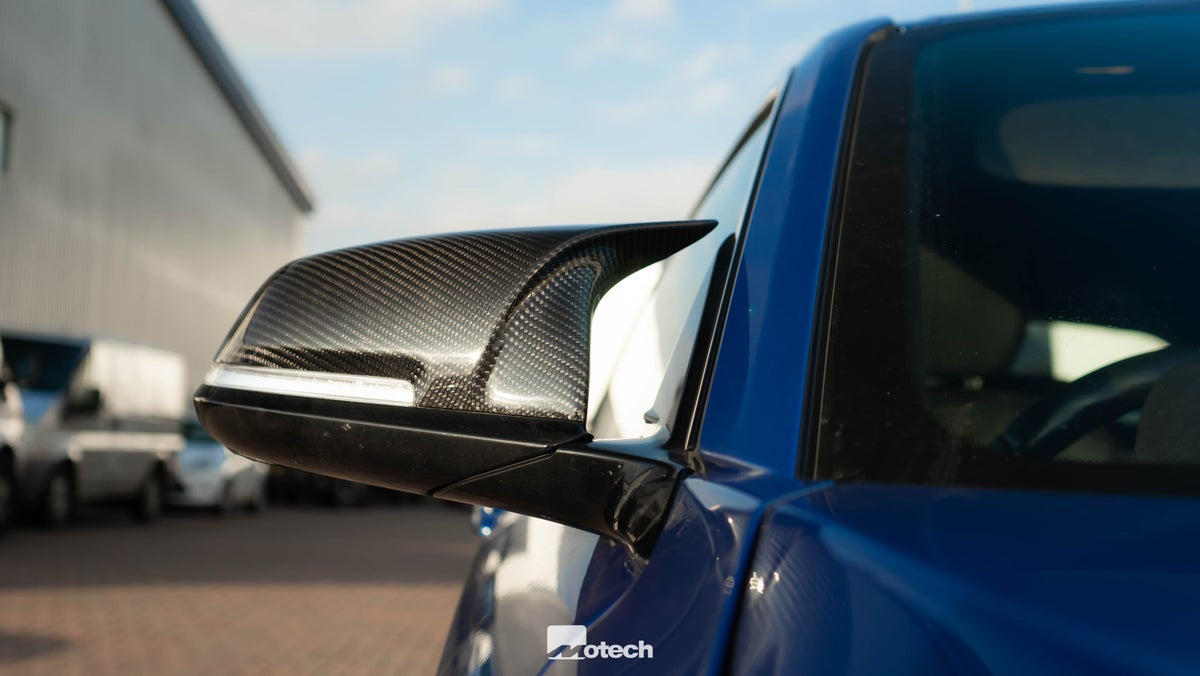 Image of M-INSPIRED FULL CARBON FIBRE WING MIRROR COVERS FOR BMW (VARIOUS MODELS)