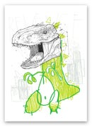 "Image 5 of ""Rex Awakens"" - A4 print"