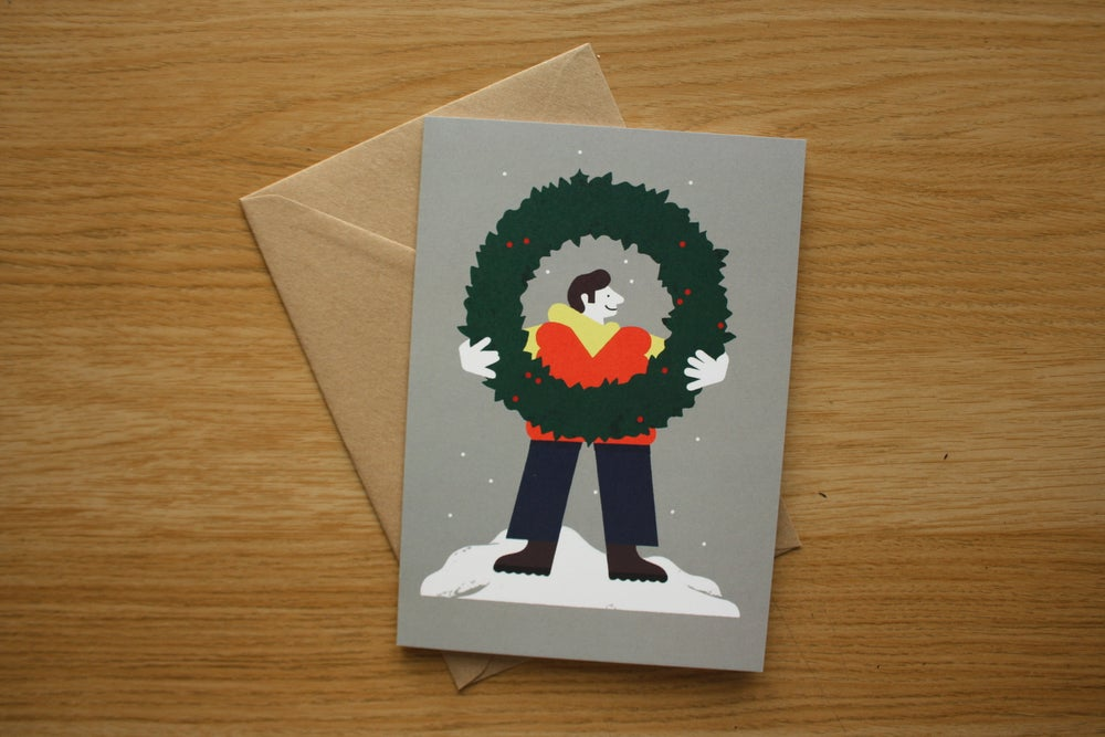 Image of Big Wreath Card Pack