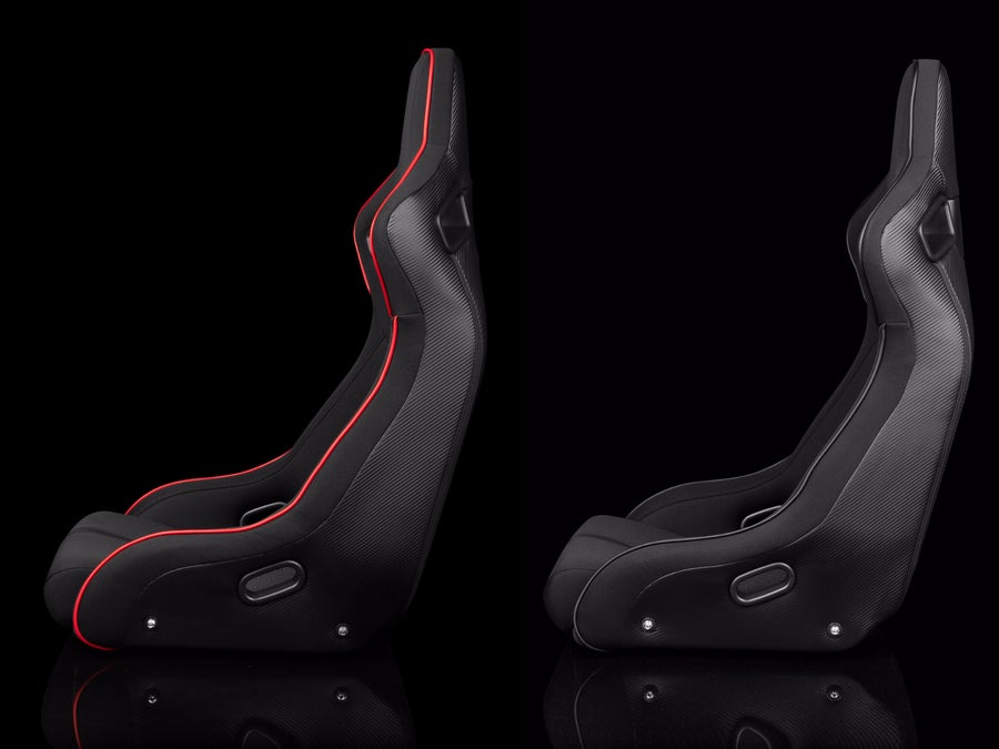 Image of ELITE-R FIXED BACK BUCKET SEAT - BRAUM Racing  - Single Seat