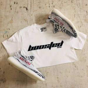 "Image of BOOSTED ""CALABASAS"" T-SHIRT, HOODY OR DAD HAT"