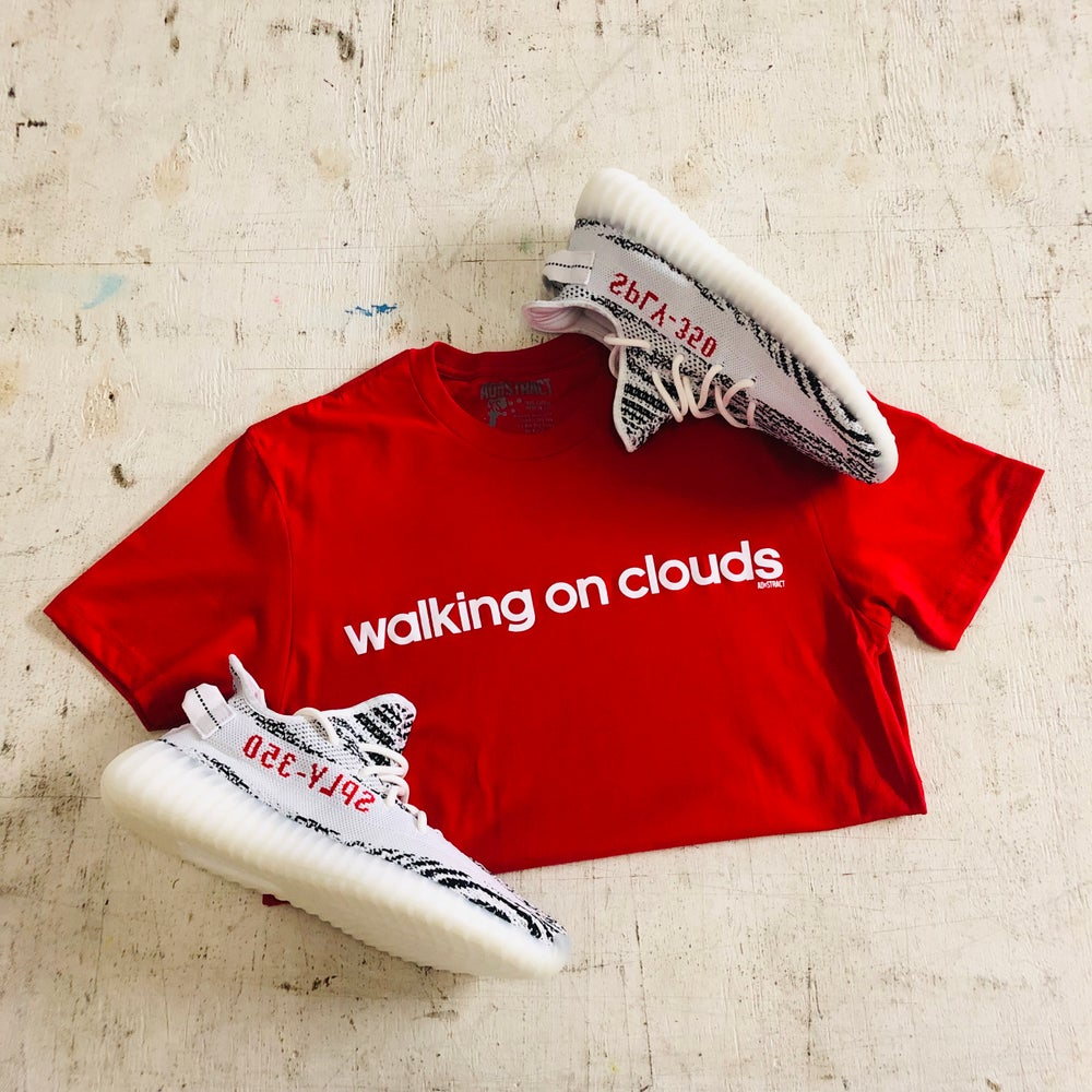 WALKING ON CLOUDS T-SHIRT