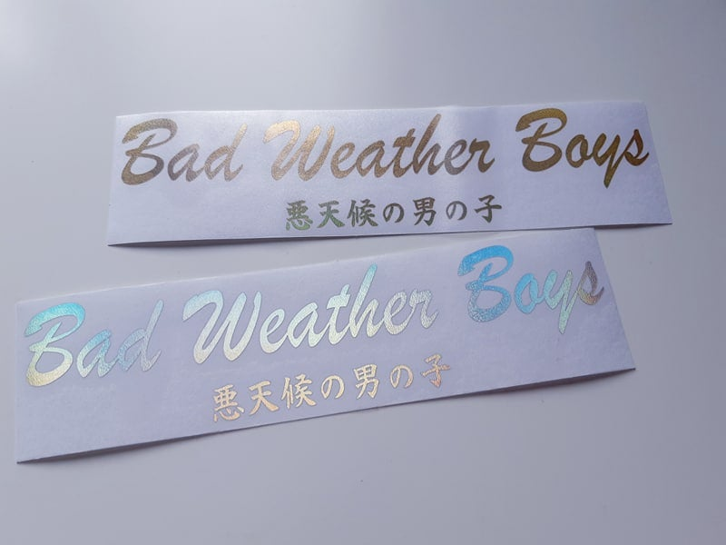 Image of Bad Weather Boys [CLASSY]