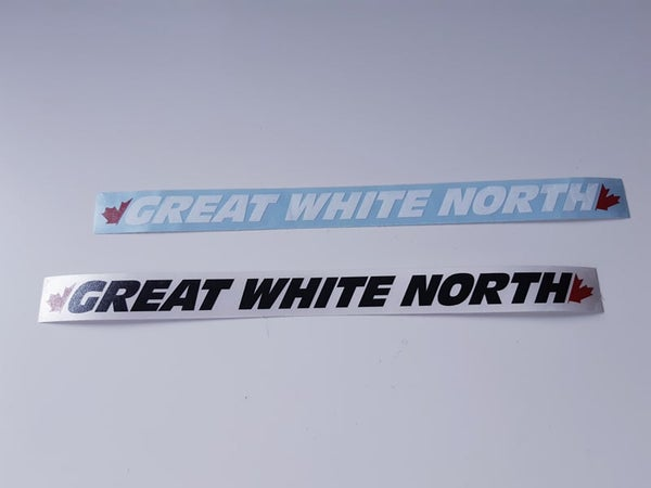 Image of Great White North Text Logo