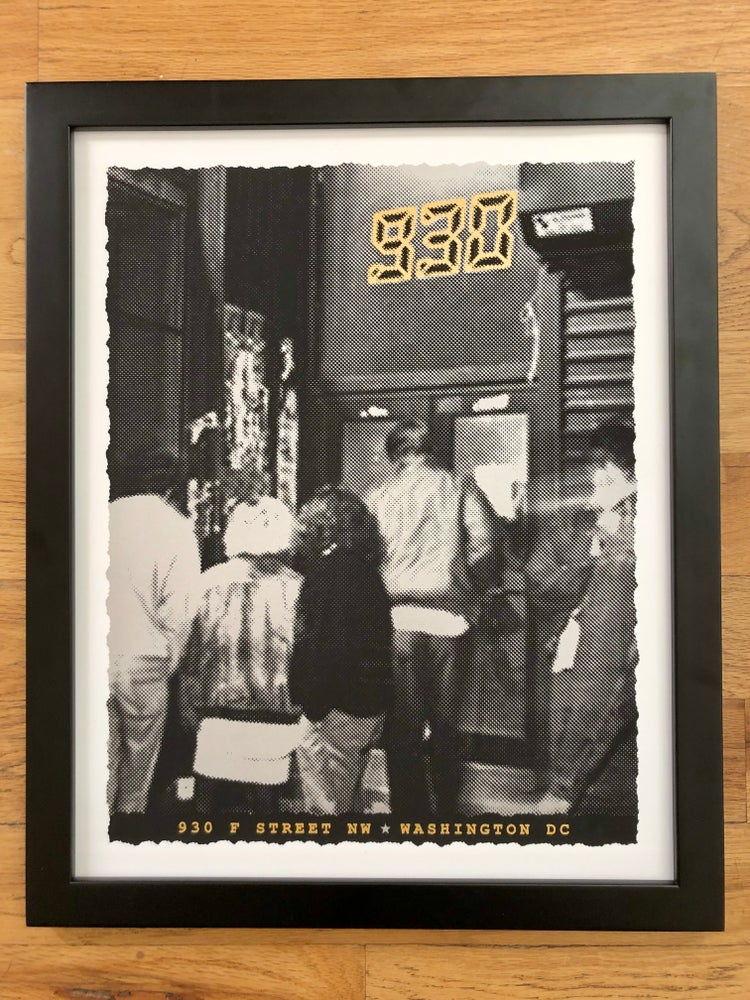 Image of Nightclub 9:30 Silk Screened Art Print - Showtime Edition