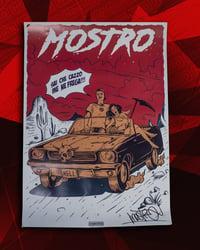 MOSTRO - POSTER SAI CHE CAZZO ME NE FREGA - HONIRO STORE