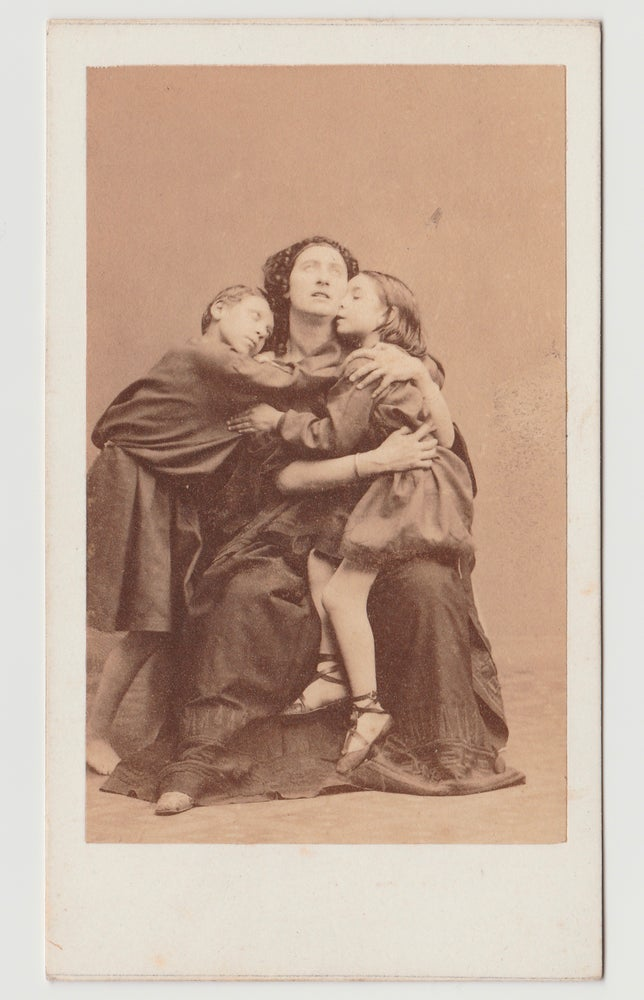 Image of Disdéri: CdV of Ristori in Médée, ca. 1858