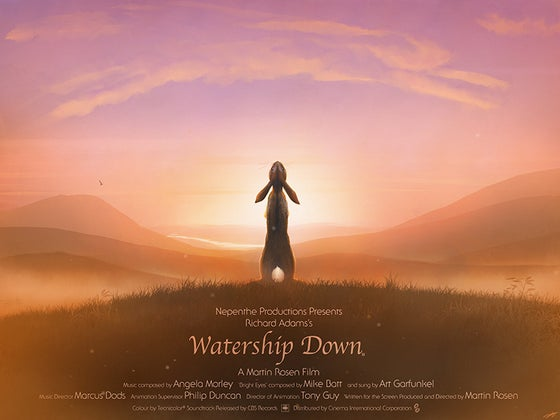 Image of Watership Down ( with billing block )